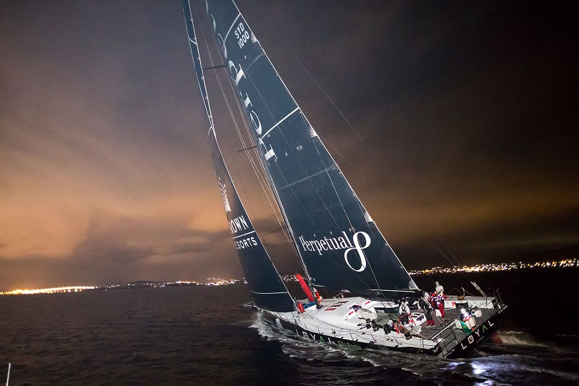 2016 Sydney To Hobart Finish