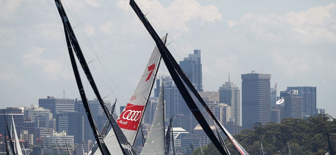 2016 Sydney To Hobart Start