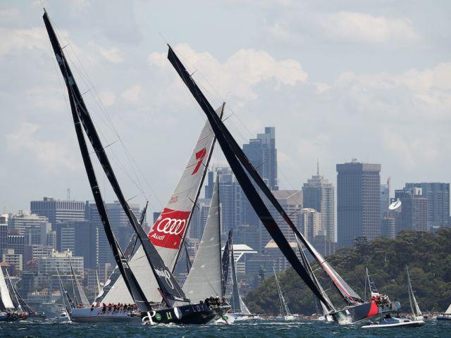 2016 Sydney To Hobart Start